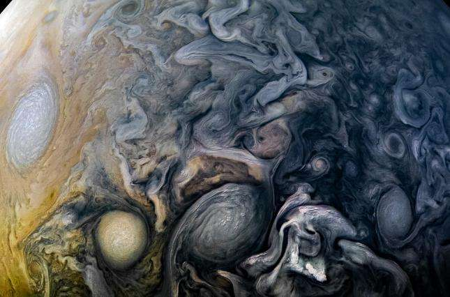 Изумительный снимок: NASA показало новое фото Юпитера